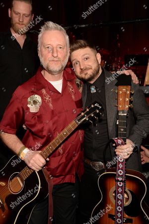 Billy Bragg and Peter Donegan
