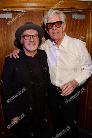Stock Image of Paul Carrack and Nick Lowe