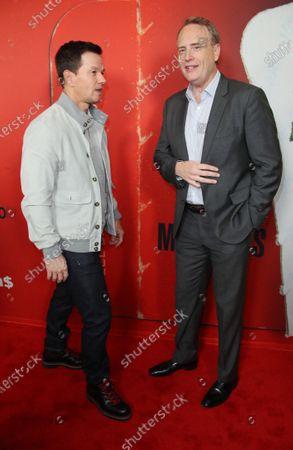 Stock Image of Mark Wahlberg and Bob Greenblatt
