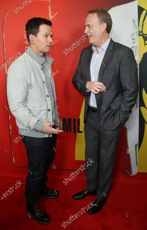 Stock Picture of Mark Wahlberg and Bob Greenblatt