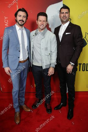 Brian Lazarte, Mark Wahlberg and James Lee Hernandez