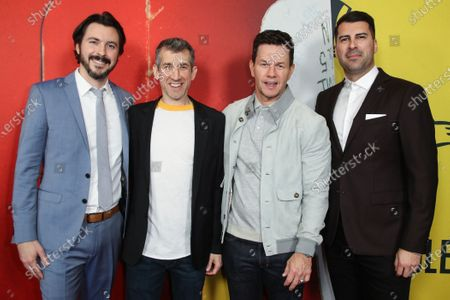 Stock Photo of Brian Lazarte, Archie Gips, Mark Wahlberg and James Lee Hernandez