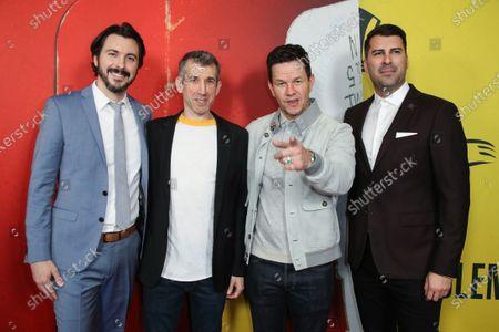 Brian Lazarte, Archie Gips, Mark Wahlberg and James Lee Hernandez