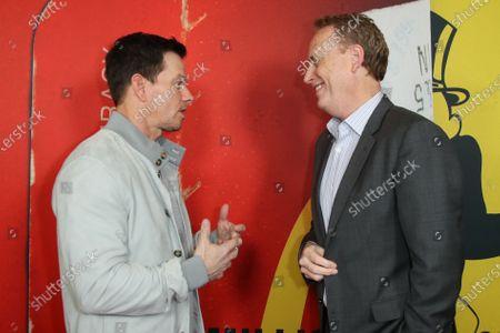 Mark Wahlberg and Bob Greenblatt