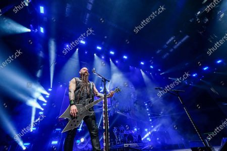 Stock Photo of Five Finger Death Punch - Chris Kael