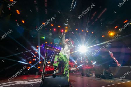 Stock Photo of Five Finger Death Punch - Ivan L. Moody