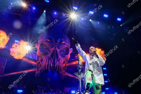 Stock Picture of Five Finger Death Punch - Ivan L. Moody