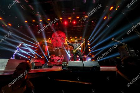 Editorial photo of Five Finger Death Punch in concert at Motorpoint Arena, Cardiff, Wales, UK - 30 Jan 2020