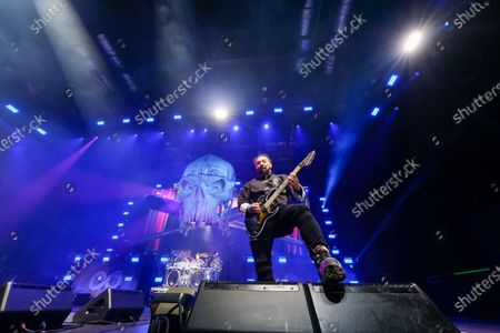 Stock Image of Five Finger Death Punch - Zoltan Bathory