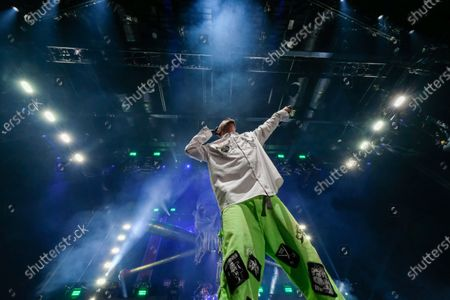 Editorial image of Five Finger Death Punch in concert at Motorpoint Arena, Cardiff, Wales, UK - 30 Jan 2020