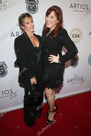 Gabrielle Carteris and Lisa Ann Walter