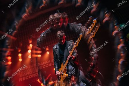 Editorial photo of The Courteeners in concert in New Slang, London, UK - 30 Jan 2020