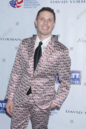 Editorial photo of American Australian Association Arts Awards, New York, USA - 30 Jan 2020
