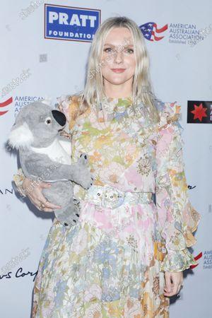 Editorial picture of American Australian Association Arts Awards, New York, USA - 30 Jan 2020