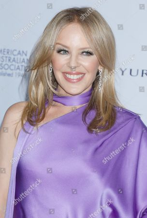 Stock Photo of Kylie Minogue