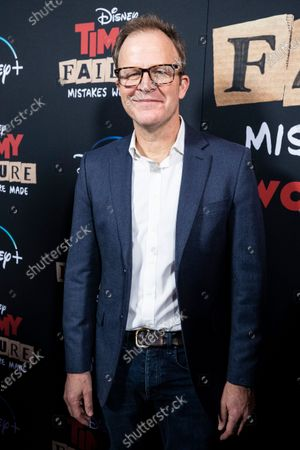 Stock Photo of Tom McCarthy arrives for the premiere of Disney's film 'Timmy Failure: Mistakes Were Made' at El Capitan Theater in Hollywood, California, USA, 30 January 2020. The film was released on Disney+ on 25 January.