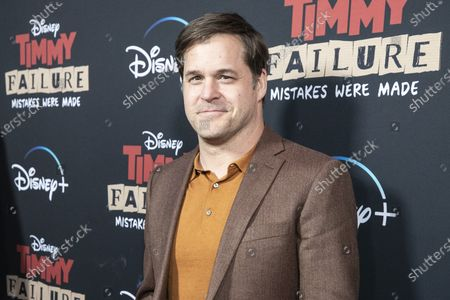 Kyle Bornheimer arrives for the premiere of Disney's film 'Timmy Failure: Mistakes Were Made' at El Capitan Theater in Hollywood, California, USA, 30 January 2020. The film was released on Disney+ on 25 January.