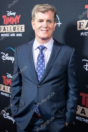 Stock Picture of Chairman and Producer of Whitaker Entertainment at Walt Disney Studios James Whitaker arrives for the premiere of Disney's film 'Timmy Failure: Mistakes Were Made' at El Capitan Theater in Hollywood, California, USA, 30 January 2020. The film will be released on Disney+ on 25 January.