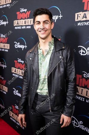 Stock Picture of Trevor Tordjman arrives for the premiere of Disney's film 'Timmy Failure: Mistakes Were Made' at El Capitan Theater in Hollywood, California, USA, 30 January 2020. The film will be released on Disney+ on 25 January.
