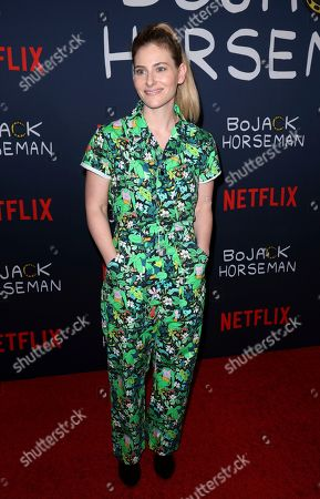 "Stock Picture of Lisa Hanawalt attends the ""BoJack Horseman"" Final Episodes Photo Call at The Egyptian Theatre Hollywood, in Los Angeles"