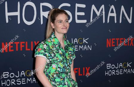 "Lisa Hanawalt attends the ""BoJack Horseman"" Final Episodes Photo Call at The Egyptian Theatre Hollywood, in Los Angeles"
