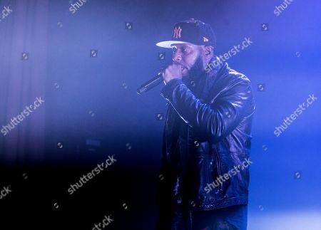 Editorial image of Talib Kweli in concert at Islington Assembly Hall, London, UK - 30 Jan 2020