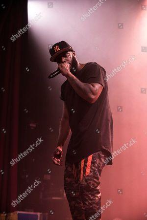 Editorial photo of Talib Kweli in concert at Islington Assembly Hall, London, UK - 30 Jan 2020