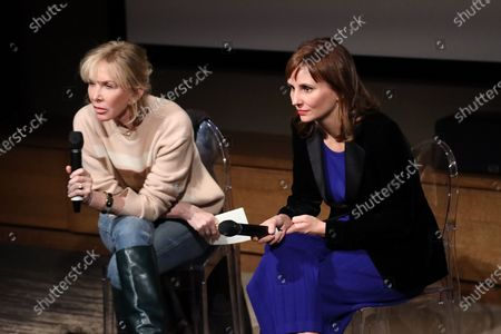 Stock Photo of Trudie Styler and Petra Costa
