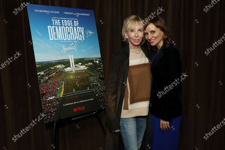 Stock Image of Trudie Styler and Petra Costa