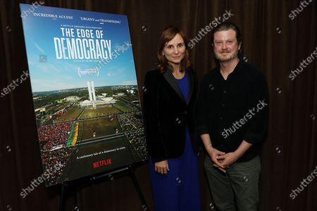 Petra Costa and Beau Willimon