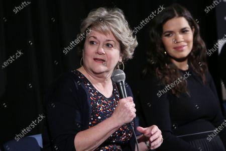 Bonnie Arnold and America Ferrera