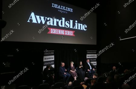 Brad Lewis, Bonnie Arnold, America Ferrera and Dean DeBlois