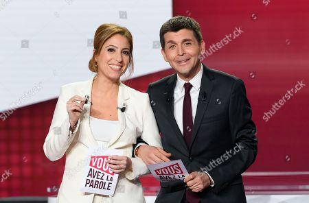 Editorial image of 'Vous avez la Parole' TV show, Paris, France - 30 Jan 2020
