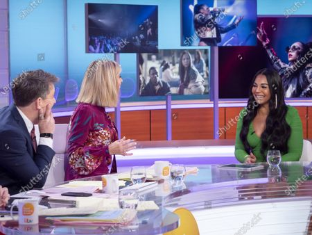 Ben Shephard and Kate Garraway with Ashanti