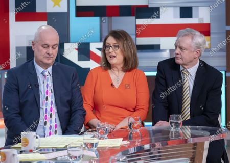 Iain Dale, Jacqui Smith and David Davis