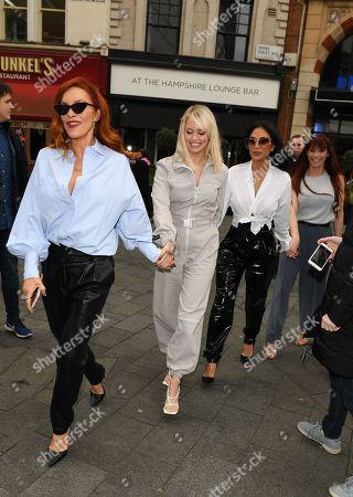 Carmit Bachar, Kimberly Wyatt, Nicole Scherzinger, Jessica Sutta at Heart Radio
