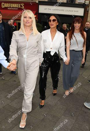 Kimberly Wyatt, Nicole Scherzinger, Jessica Sutta at Heart Radio