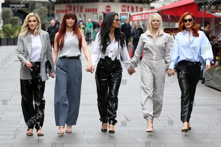 Editorial photo of Pussycat Dolls out and about, London, UK - 31 Jan 2020