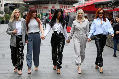 Editorial image of Pussycat Dolls out and about, London, UK - 31 Jan 2020