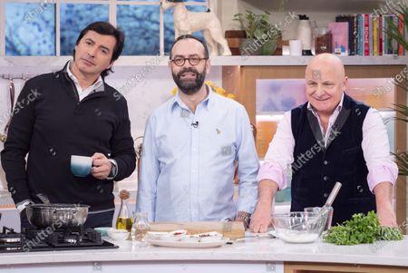 Jean-Christophe Novelli, Jose Pizzaro and Aldo Zilli