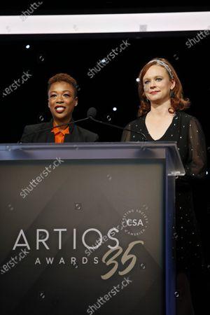 Samira Wiley and Thora Birch