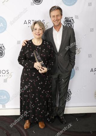 Editorial photo of 35th Annual CSA Artios Awards, Press Room, Los Angeles, USA - 30 Jan 2020