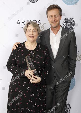 Deborah Aquila and Edward Norton