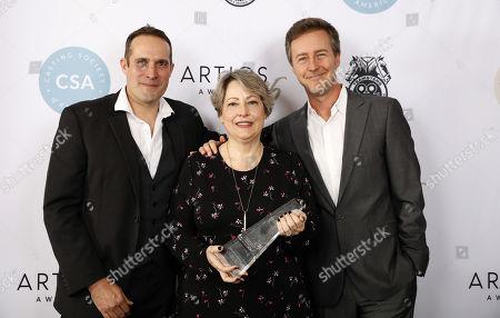 Russell Boast, Deborah Aquila and Edward Norton
