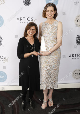 Editorial picture of 35th Annual CSA Artios Awards, Press Room, Los Angeles, USA - 30 Jan 2020