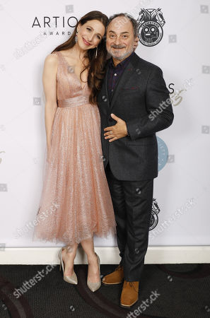 Marin Hinkle and Kevin Pollak