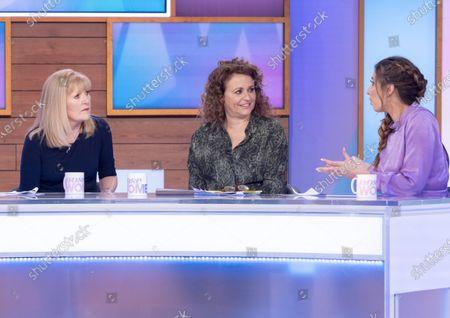 Cathy Shipton, Nadia Sawalha and Stacey Solomon