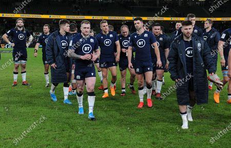 Editorial photo of Ireland v Scotland,  Guinness Six Nations, Rugby Union, Aviva Stadium, Dublin, Ireland - 01 Feb 2020