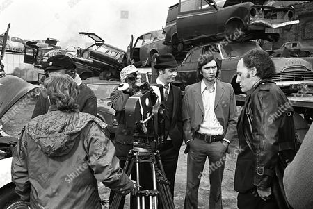 'The Protectors' TV Series - 1974 - Blockbuster - Behind the scenes, filming. Stanley Meadows