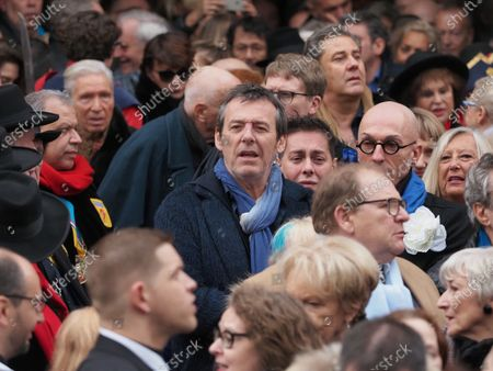 Editorial picture of The funeral of Michou at the Saint-Jean church, Montmartre, Paris, France - 31 Jan 2020